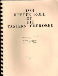 1884 Hester Roll of the Eastern Cherokee