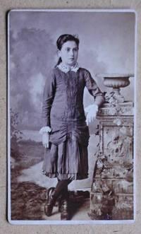Carte De Visite Photograph: Portrait of a Young Girl. by Julius H. Gross - from N. G. Lawrie Books. (SKU: 29257)