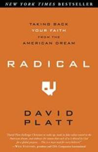 image of Radical: Taking Back Your Faith From The American Dream