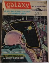Galaxy Magazine  April 1964 Vol 22 No 4