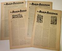 The Road to Freedom: A Monthly Journal of Anarchist Thought and Interpretation - Four Issues, 1929 - 1931 by  eds  Hippolyte; Walter Starret; W.S. Van Valkenburgh - Paperback - First edition - 1929-1931 - from Bay Leaf Used & Rare Books, ABAA (SKU: 464)