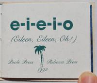 e-i-e-i-o (Eileen, Eileen, Oh!)