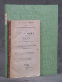 E. Charnley's Catalogue, 1814. A Catalogue of Books, Now on Sale, at the Prices Affixed to...