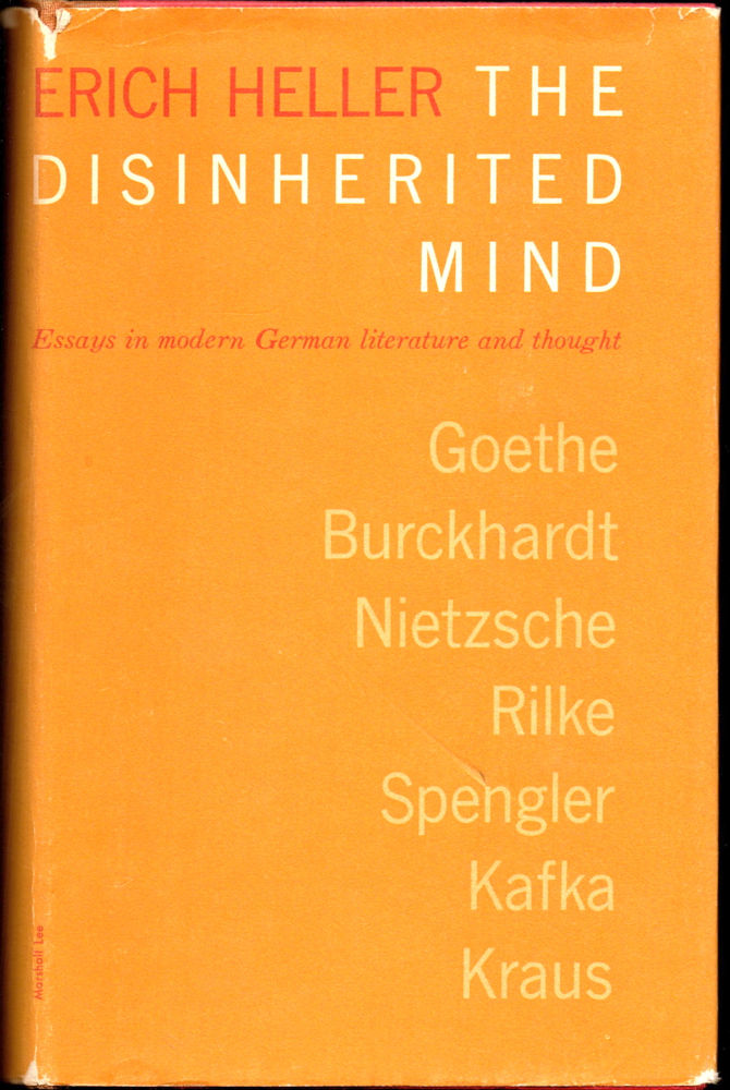 disinherited essay german in literature mind modern thought Browse area and ethnic studies  german studies bibliography david s luft from: hugo von hofmannsthal and the austrian idea: in lieu of an abstract, here.