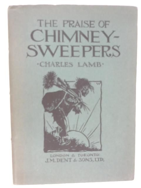 praise of chimney sweepers essay Ebscohost serves thousands of libraries with premium essays, articles and other content including the praise of chimney-sweepers get.