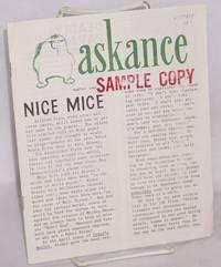 Askance, no. 1, October, 1962