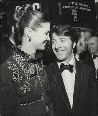 Original photograph of Dustin Hoffman and Anne Byrne at the London premiere of Little Big Man, 1971