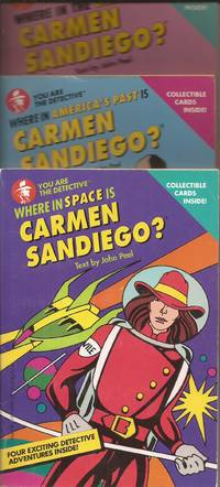 image of Where in the U.S.A. is Carmen Sandiego? Where in America's Past is Carmen Sandiego? Where in Space is Carmen Sandiego? 3 Volumes