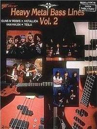 Heavy Metal Bass Lines Vol. 2 by Various - from Music by the Score and Biblio.co.uk