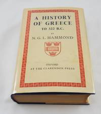A HISTORY OF GREECE TO 322 B.C. Second Edition