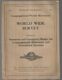 The Pilgrim Tercentenary Congregational World Movement World Wide Survey