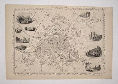 London: Tallis, John, 1848. unbound. Rapkin, J.. Map. Steel engraving. Image measures 9 13/4