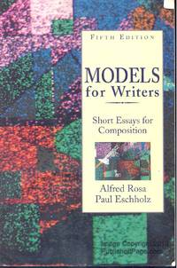 model for writers short essays for composition I have developed many models, paradigms, tools and techniques to help me teach better someday i plan to be a published author i have already written or begun writing over forty different novels and short stories.