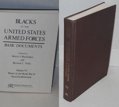 Wilmington DE: Scholarly Resources Inc, 1977. Hardcover. xxv, 449p., documents in facsimile througho...