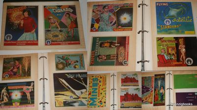 various: various, 1970. Three Ring Binder. Good. We offer a large archive of fireworks labels dating...