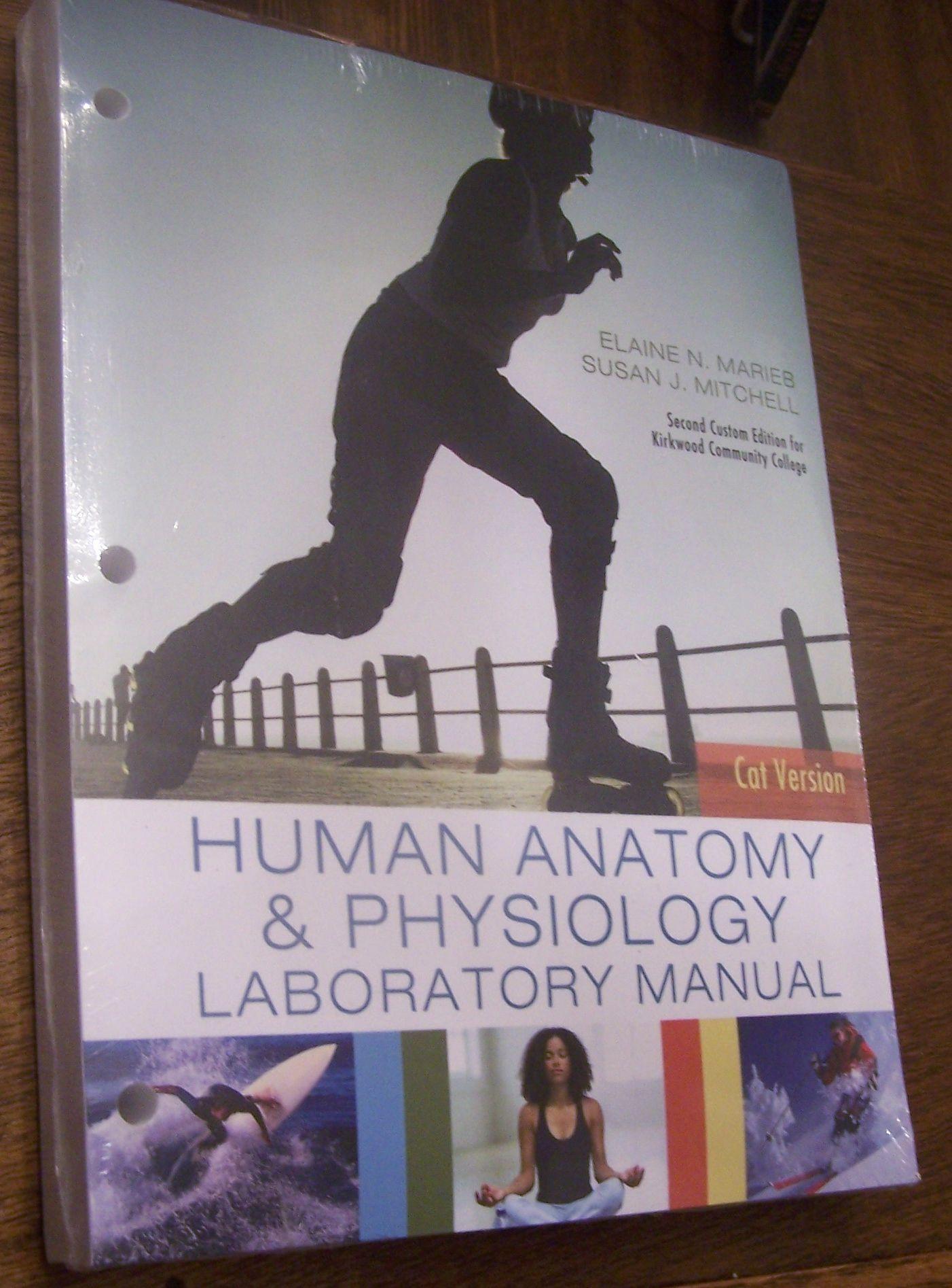 Human Anatomy Physiology Laboratory Manula By Elaine N Marieb