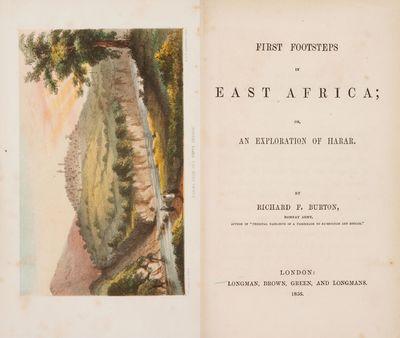 Richard F. Burton. First Footsteps in...