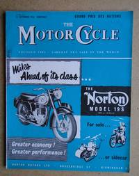 image of The Motor Cycle. 13 September, 1956.