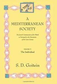 A Mediterranean Society: The Jewish Communities of the Arab World as Portrayed in the Documents of the Cairo Geniza, Vol. V: The Individual (Near Eastern Center, UCLA) by S. D. Goitein - Paperback - 1999-02-08 - from Books Express and Biblio.com
