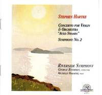 """image of Concerto for Violin and Orchestra """"Auld Swaara"""" & Symphony No. 2 [COMPACT DISC]"""