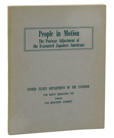 Washington, D.C.: U.S. Government Printing Office, 1947. First Edition. Near Fine. First edition. , ...