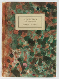 Adriatica and Other Poems. With a preface by F.L. Lucas