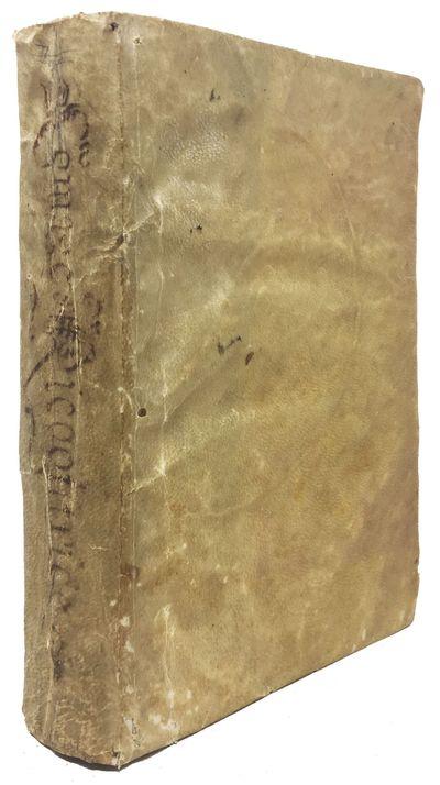Venetia: Apresso Gio. Bat. Ciotti, 1621. Period full vellum binding with hand-inked title to spine. ...