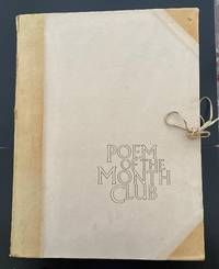 Poem of the Month Club : A Complete Portfolio Of 48 Broadsheets All Signed By The Poets With...