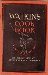 "Watkins Cook Book --""Wait For Watkins It Pays!"""