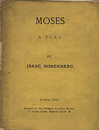 MOSES  A PLAY