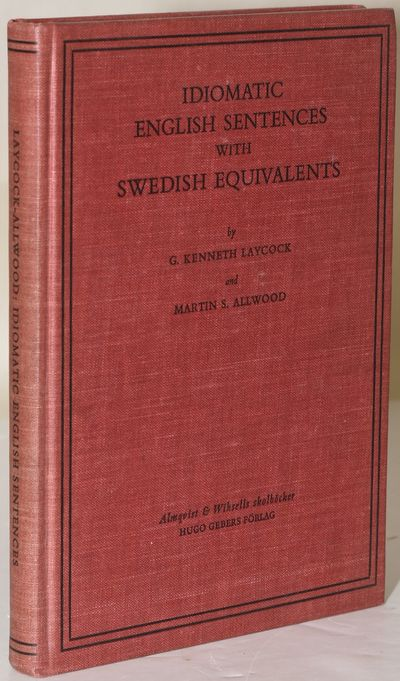 Uppsala: Almqvist & Wiksells skolbocker, 19461946. Hard Cover. Very Good+ binding. Slight bumping to...