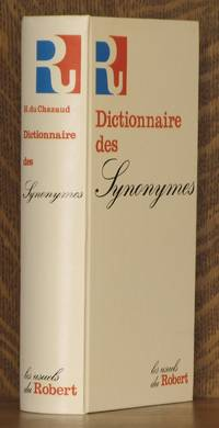 DICTIONAIRE DES SYNONYMES by edited by Henri Bertaud Du Chazaud - Hardcover - 1983 - from Andre Strong Bookseller and Biblio.com