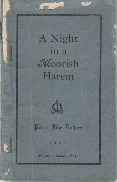 London, UK. Good. 0. Softcover. No date or publisher listed, ca. 1900. Erotic novella whose sale res...
