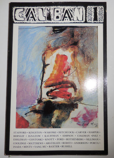 Ann Arbor: Caliban, 1986. First edition. Paperback. Very Good. Trade paperbound poetry magazine. The...