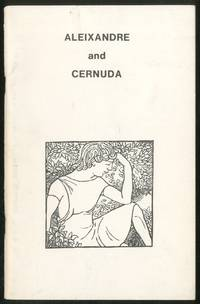 Vincente Aleixandre and Luis Cernuda: Selected Poems