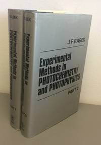 Experimental methods in photochemistry and photophysics