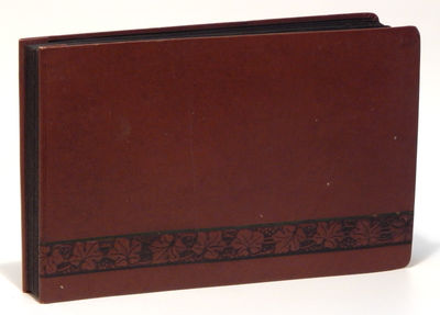 Hardcover. Very good. Oblong octavo12mo (18 x 28 cm) containing 124 photographs on 32 leaves, images...