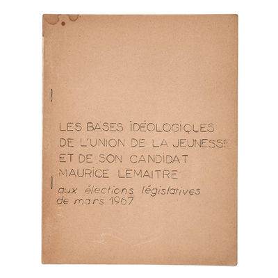 Les bases idéologiques de l'Union de...