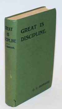 image of Great is discipline