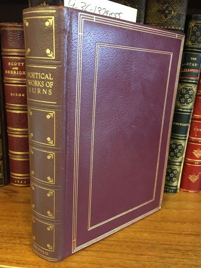 London: Oxford University Press, 1950. Reprint. Hardcover. Octavo, 635 pages; VG; bound in brown lea...
