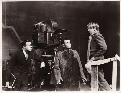 N.p.: N.p., 1946. Vintage reference photograph of director David Lean and producer Ronald Neame in c...