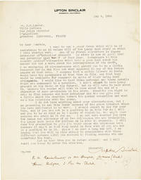 image of Archive of Correspondence to and from J.R. Lamour [aka Yves Malartic]