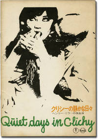 image of Quiet Days in Clichy (Japanese program for the 1970 film)