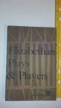 image of Elizabethan plays and players (Ann Arbor books)
