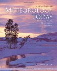 image of Meteorology Today: An Introduction to Weather, Climate, and the Environment (with InfoTrac)