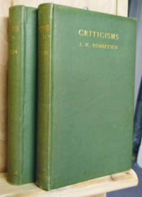 Criticisms, Volumes I and II