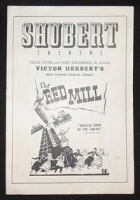 image of Program from Victor Herbert's The Red Mill at the Shubert Theatre, Philadelphia