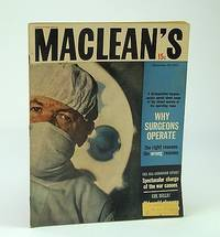 Maclean's - Canada's National Magazine, September (Sept.) 23, 1961 - Tom Dooley's Left-Hand Man, Dr. Ronald Wintrob / Conscription / Curbing Sex Crimes Before They Happen