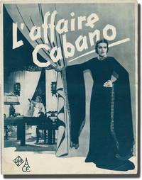 image of Die Kronzeugin [L'affaire Cabano] (Original French pressbook for the 1937 film)