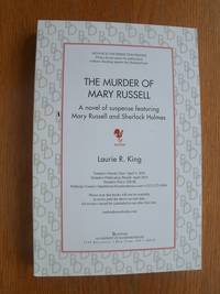 The Murder of Mary Russell by  Laurie R King - Paperback - Signed First Edition - 2016 - from Scene of the Crime Books, IOBA (SKU: 17013)